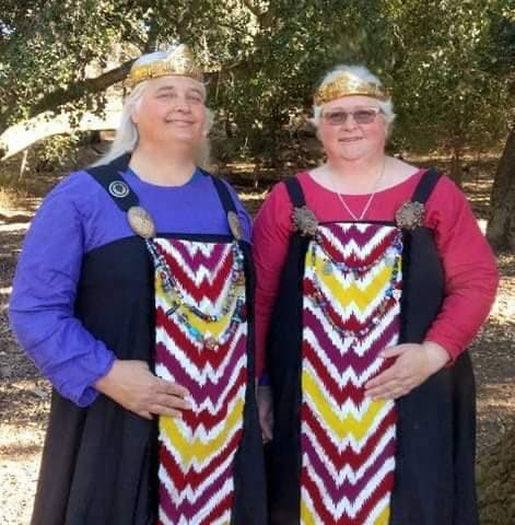 Telynor and Alistair, The Baronesses of the Westermark